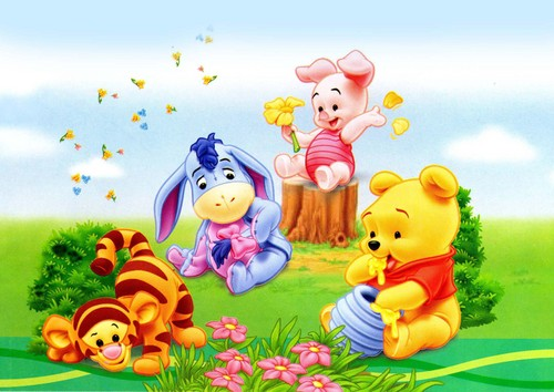 Baby pooh wallpaper