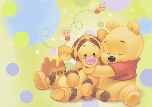 Baby pooh wolpeyper
