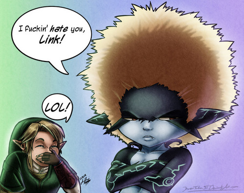 Bad hair day - the-legend-of-zelda Fan Art