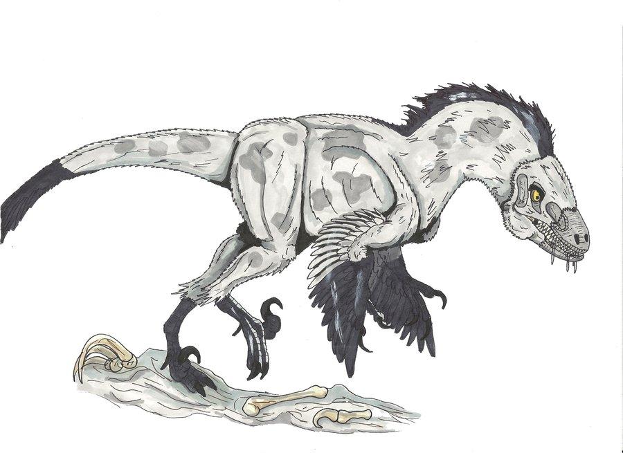 Banzai as a Deinonychus