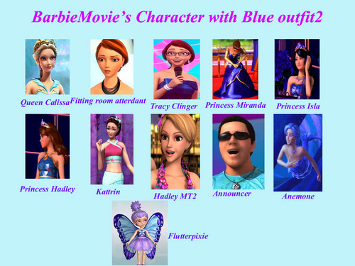 BarbieMovie's Character with Blue outfit2