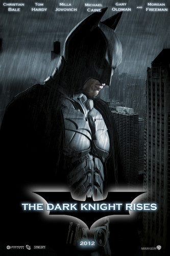 The Dark Knight Rises wallpaper possibly containing a fedora, a sign, and a street called Batman The Dark Knight Rises