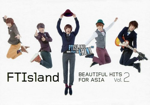 FT ISLAND (에프티 아일랜드) wallpaper entitled Beautiful Hits for Asia Vol. 2 Version B