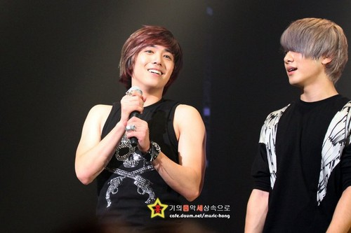 Beautiful Journey concierto in Busan Hong Ki & Minhwan