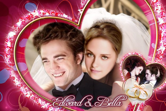Bella and Edward together forever