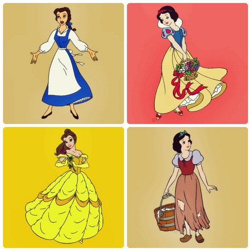 Belle and Snow White