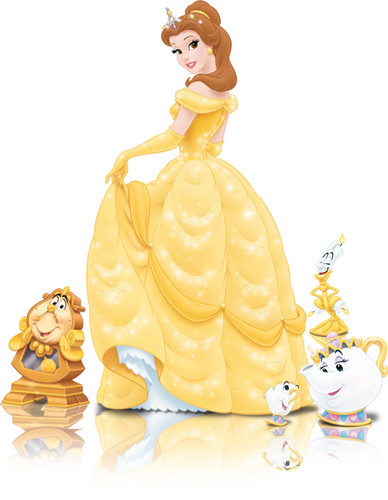 Disney Princess wolpeyper entitled Belle