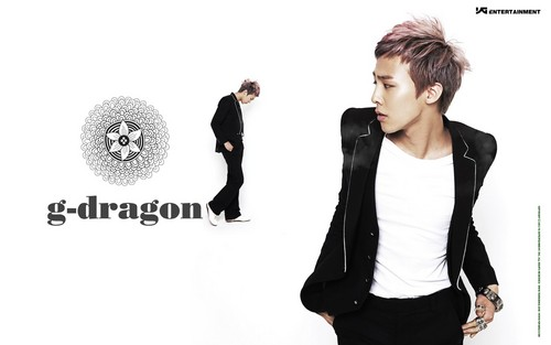 big bang wallpaper containing a well dressed person, an outerwear, and a business suit entitled Big Bang G-Dragon Special Edition
