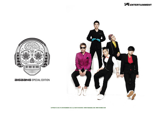 big bang wallpaper called Big Bang Special Edition