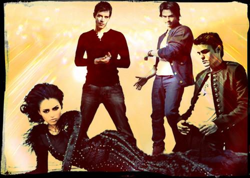 Bonnie,Stefan,Klaus,Damon!!!