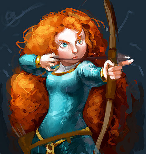 Brave Fanarts - brave Fan Art