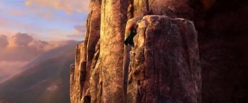 Ribelle - The Brave Stories: Merida - Climbing