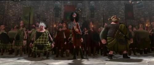 Ribelle - The Brave Stories: Merida - People Arrives