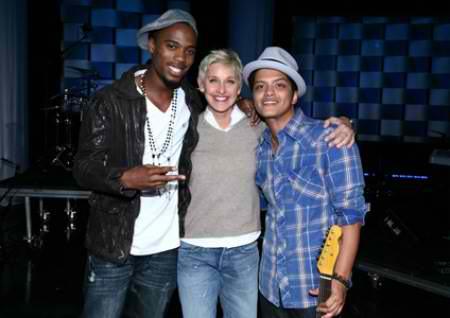 Bruno, B.o.B And Ellen
