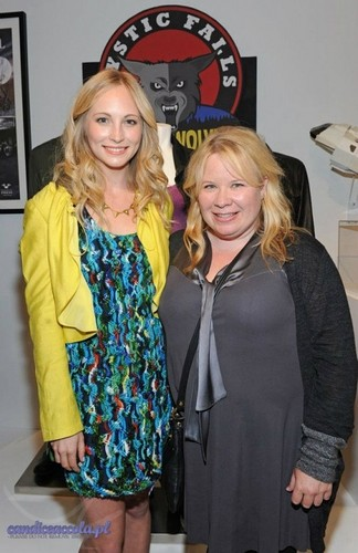 "Candice & Julie at the Opening Of ""Television: Out Of The Box"" {12/04/12}"