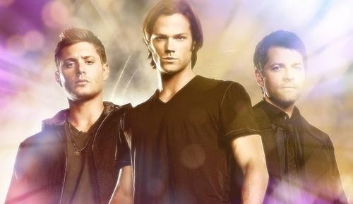 Cas, Sam, Dean