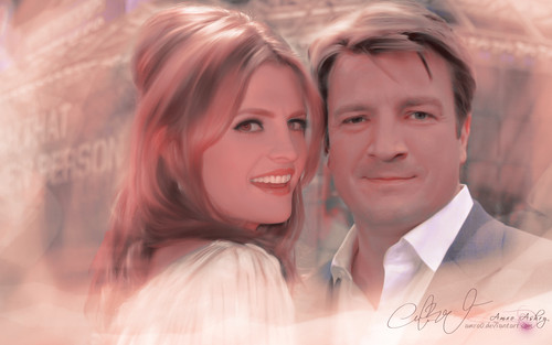 Castle wallpaper probably with a portrait called Castle Tv Show wallpapers