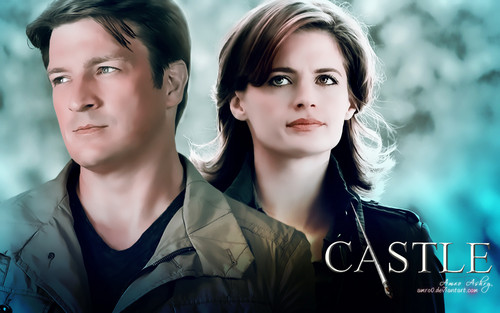 Castle wallpaper probably containing a well dressed person called Castle Tv Show wallpapers