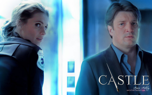 Castle wallpaper containing a business suit titled Castle Tv Show wallpapers