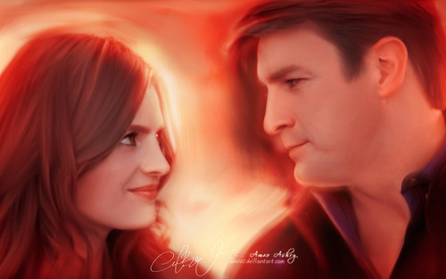 Castle wallpaper containing a portrait entitled Castle Tv Show wallpapers