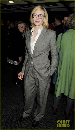 Cate Blanchett: 'Big & Small' Press Night with Andrew Upton!