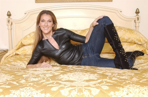 Celine Dion achtergrond probably with a boudoir, a twin bed, and a bedroom called Celine Dion