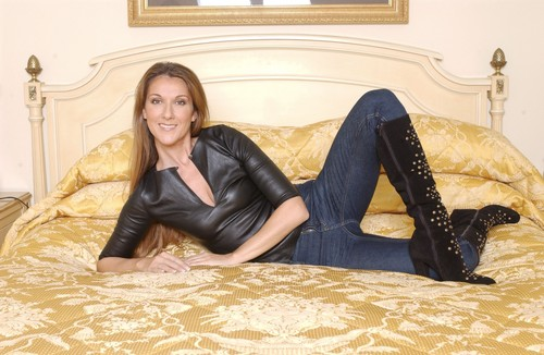 Celine Dion wallpaper probably with a family room, a couch, and a living room entitled Celine Dion