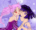 Chibiusa and Hotaru - anime-girls fan art
