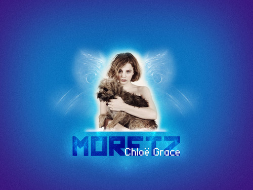 Chloe Moretz hình nền with a portrait entitled ChloeMoretz!