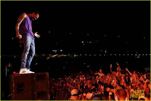 Chris Brown: Supafest in Sydney!