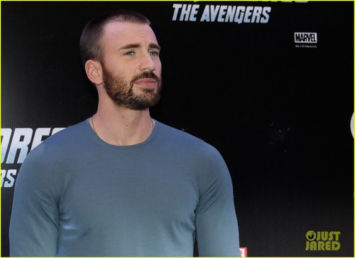 Chris Evans: 'The Avengers' Rock in Rio