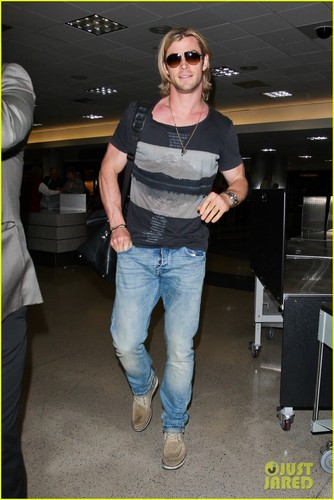 Chris Hemsworth: 'Cabin In The Woods' Screening