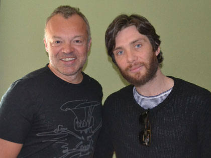 Cillian Murphy and Graham Norton.