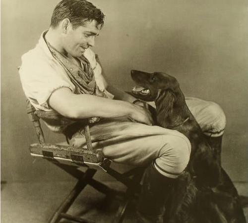 Clark & his dog