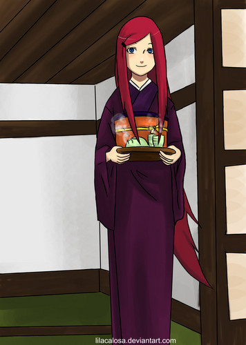 Clever housewife Kushina