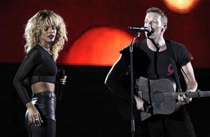 Coldplay & Rihanna <3
