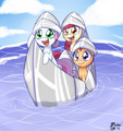 Cutie Mark Crusaders: Paper Ship,GO!
