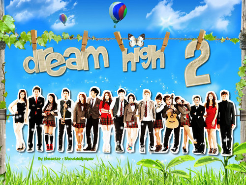 Dream High 2 karatasi la kupamba ukuta called DH 2