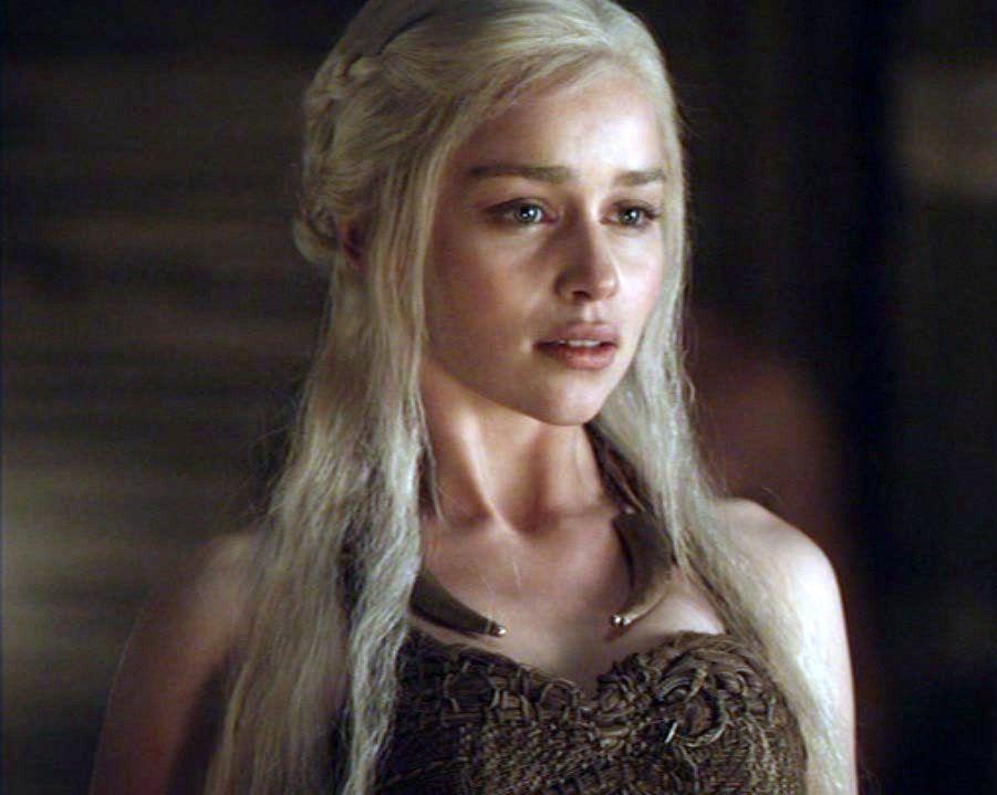 Emilia Clarke as Daenerys Targaryen is one of the most ...