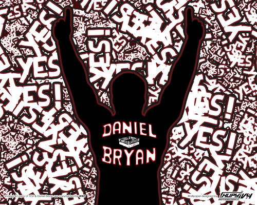 Daniel Bryan- yes! - wwe Wallpaper