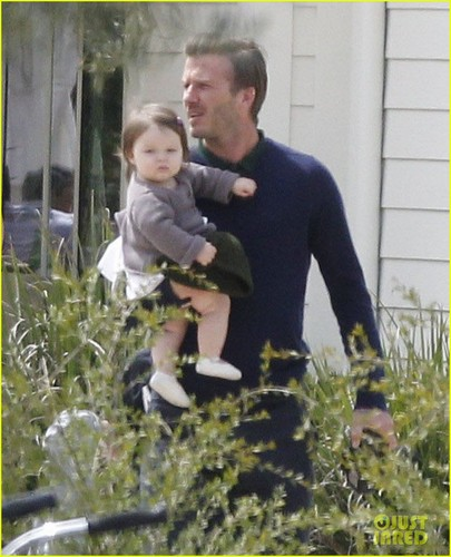 David & Victoria Beckham: Easter in Napa Valley