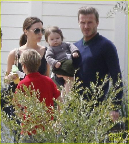 David & Victoria Beckham: Easter in Napa Valley