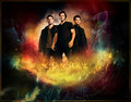 Dean, Castiel and Sam