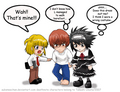 Death Note cosplay parody - death-note-cosplay-and-role-play fan art