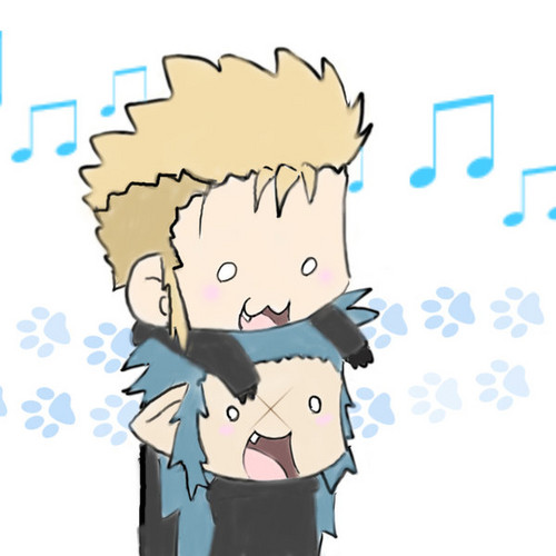 Demyx and his puppy!