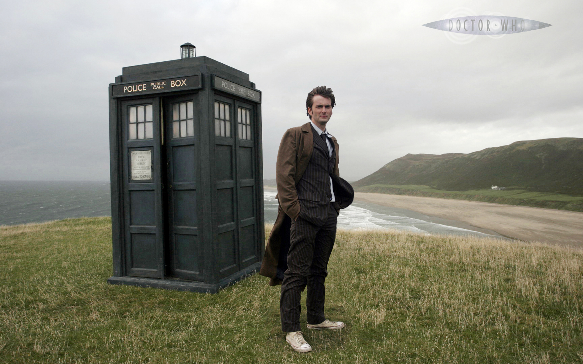 Doctor Who 10th Doctor TARDIS Wallpaper
