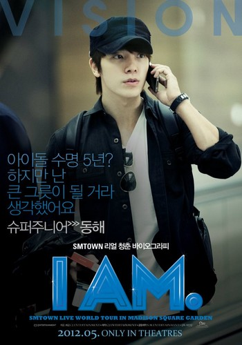 "Donghae's ""I Am"" Poster"