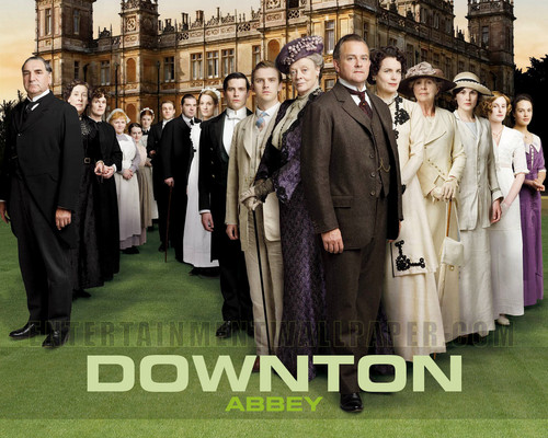 Downton Abbey karatasi la kupamba ukuta called Downton Abbey <3
