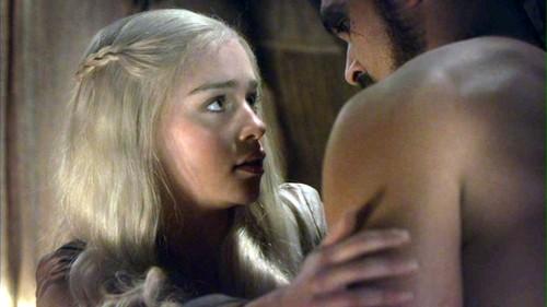 Drogo and Daenerys