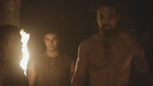 Drogo and Rakharo